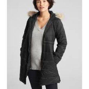 GAP Maternity Longline Puffer Coat Small NEW